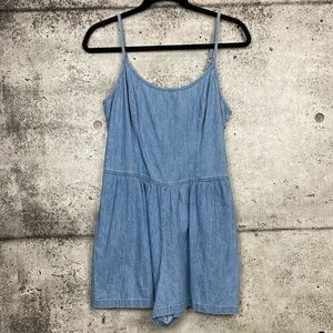 Urban Outfitters // Cooperative // Chambray Romper